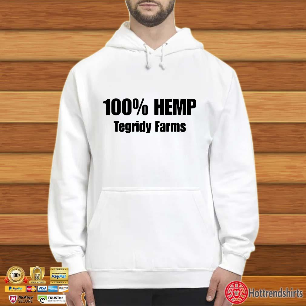100'Hemp Tegridy Farms shirt