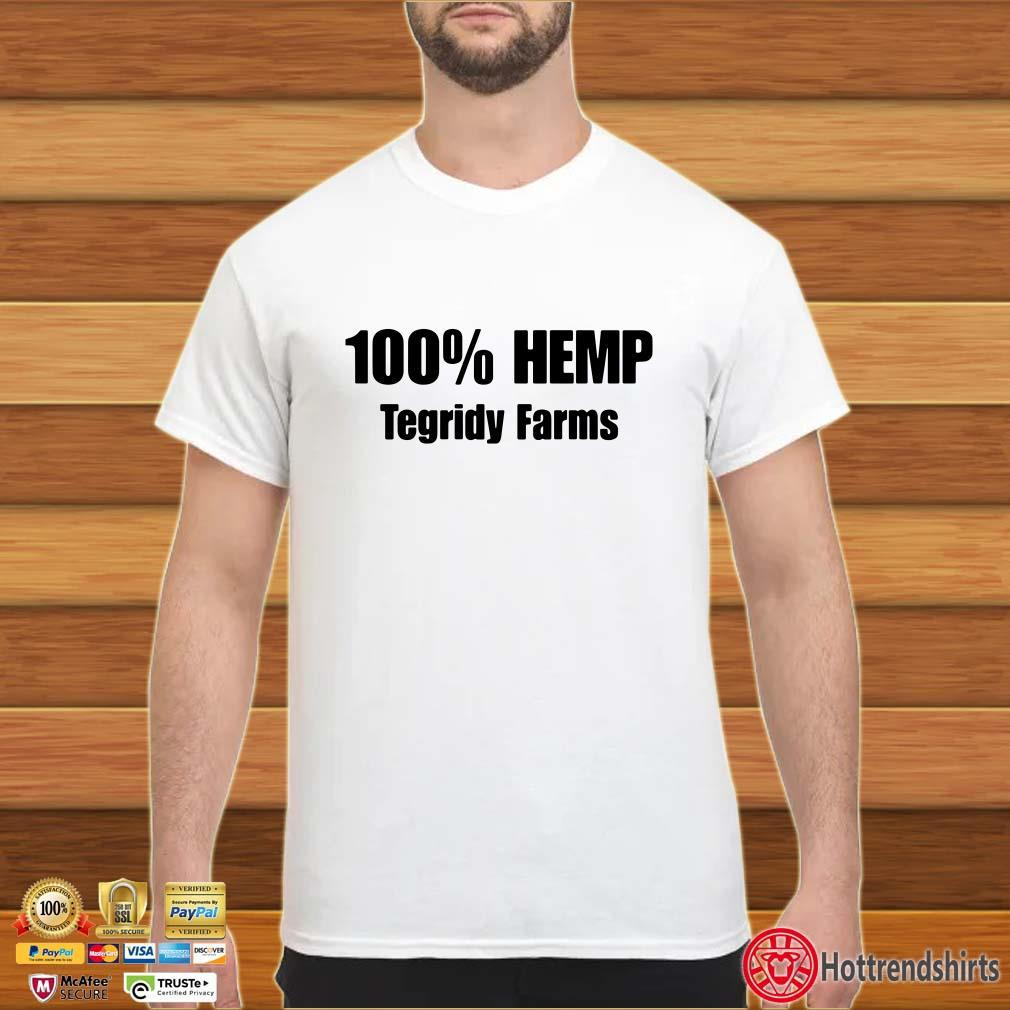 100'Hemp Tegridy Farms shirt