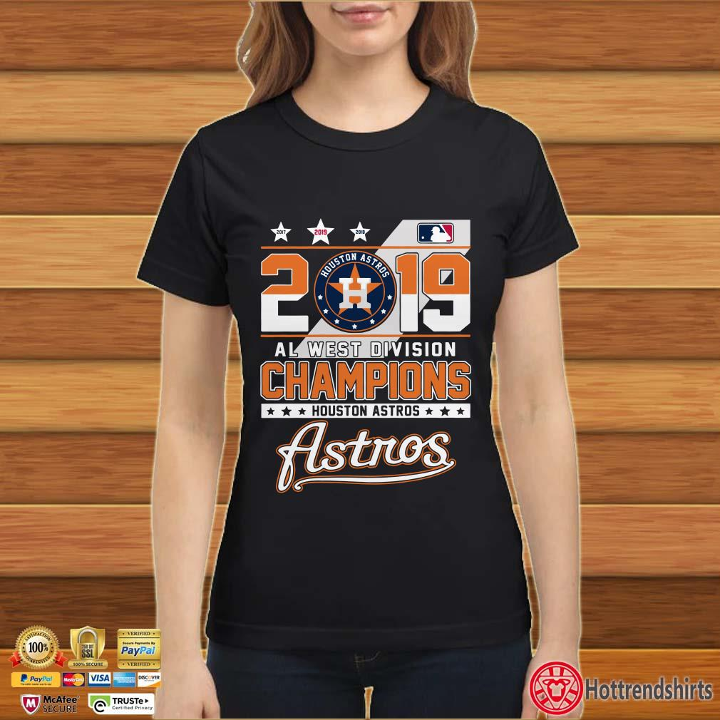 2019 Al west division Champions Houston Astros shirt