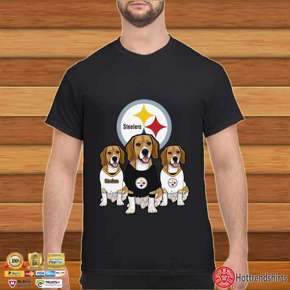 Beagle Pittsburgh Steelers shirt