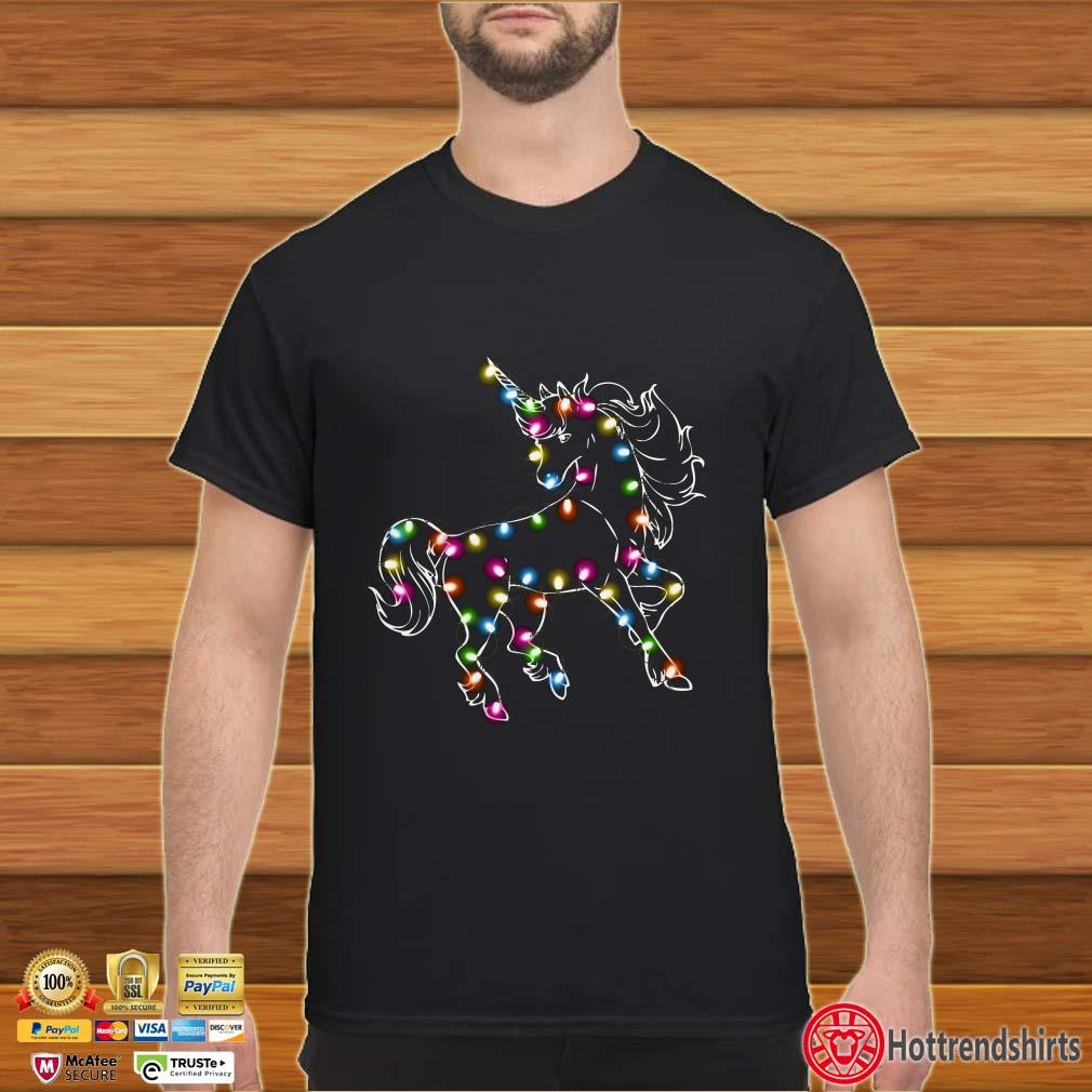 Horse Christmas Light Shirt
