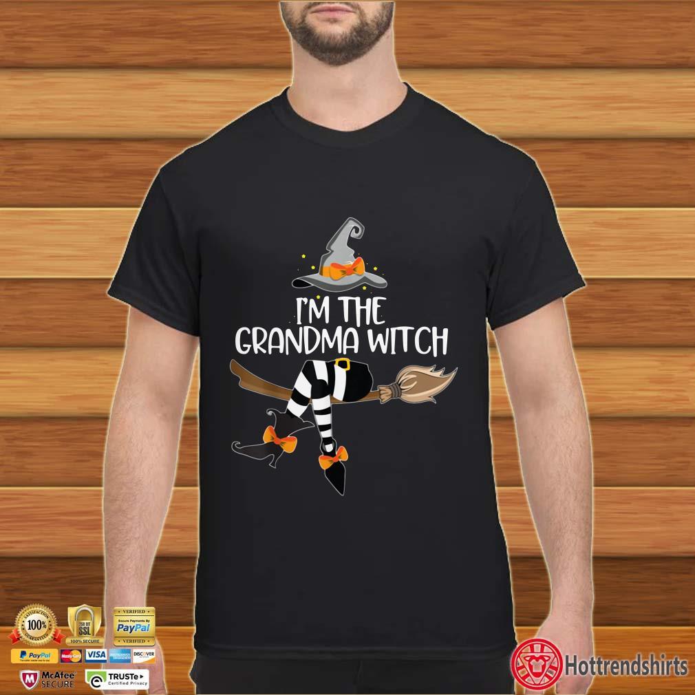I'm the grandma witch shirt