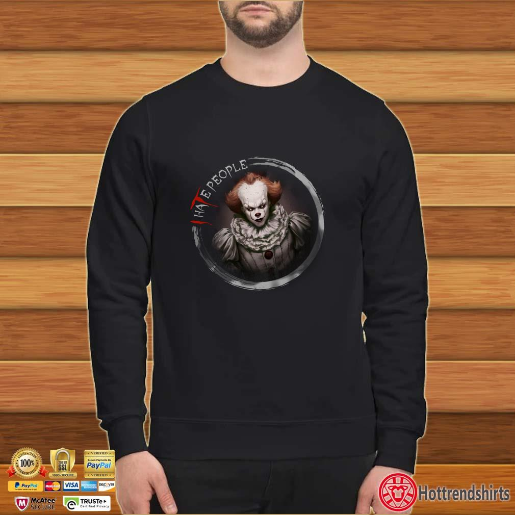 IT Pennywise I hate People Halloween Shirt