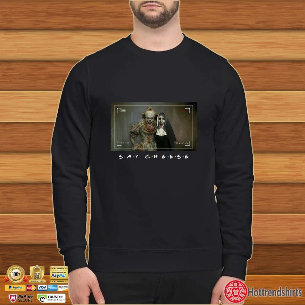 Pennywise and Valak Photo shirt