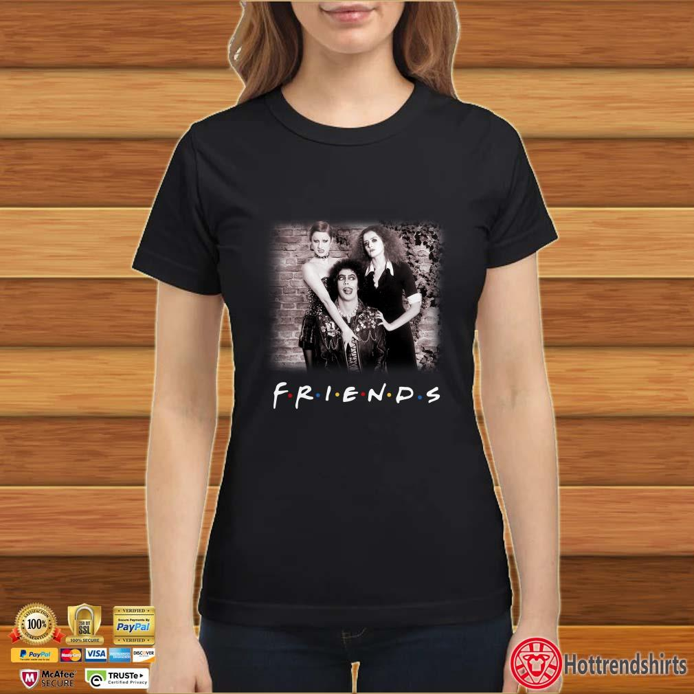 The rocky horror picture show character friends shirt