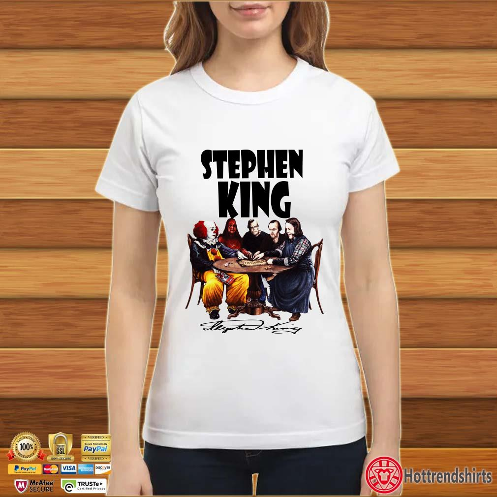 Stephen King Horror Signature Shirt