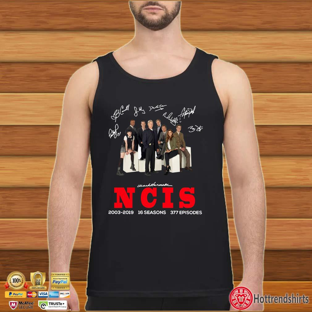 16 Years Of Ncis 2003-2019 Signature Shirt