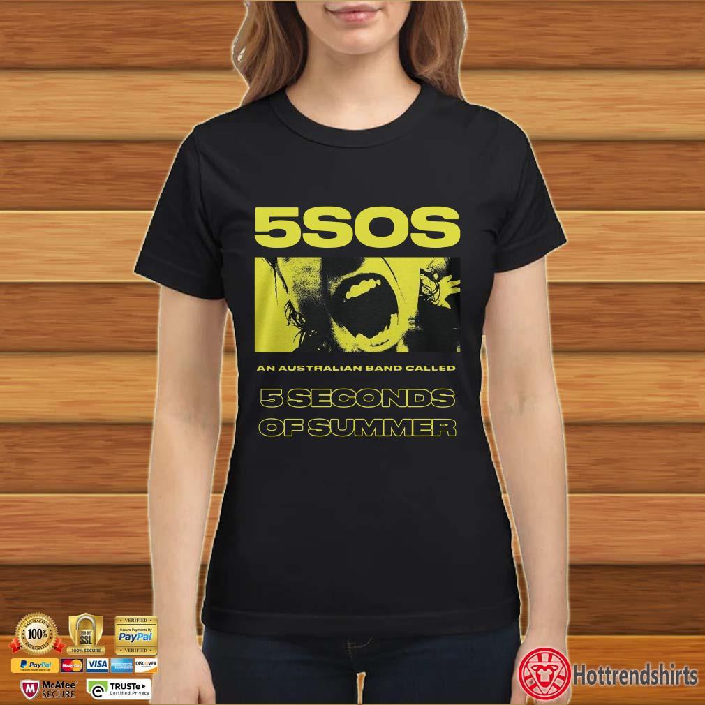 5sos An Australian Band Called 5 Seconds Of Summer Shirt