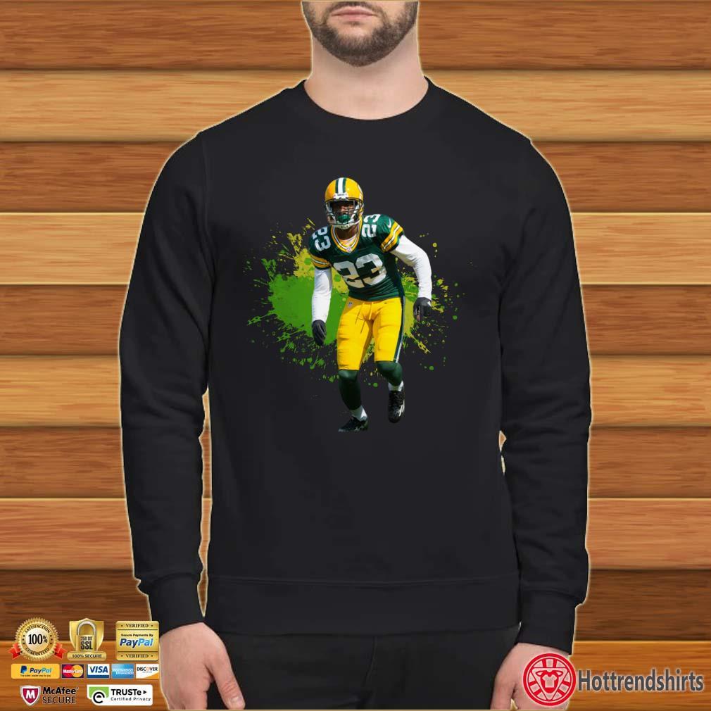 Aaron Jones Green Bay Packers Running Shirt