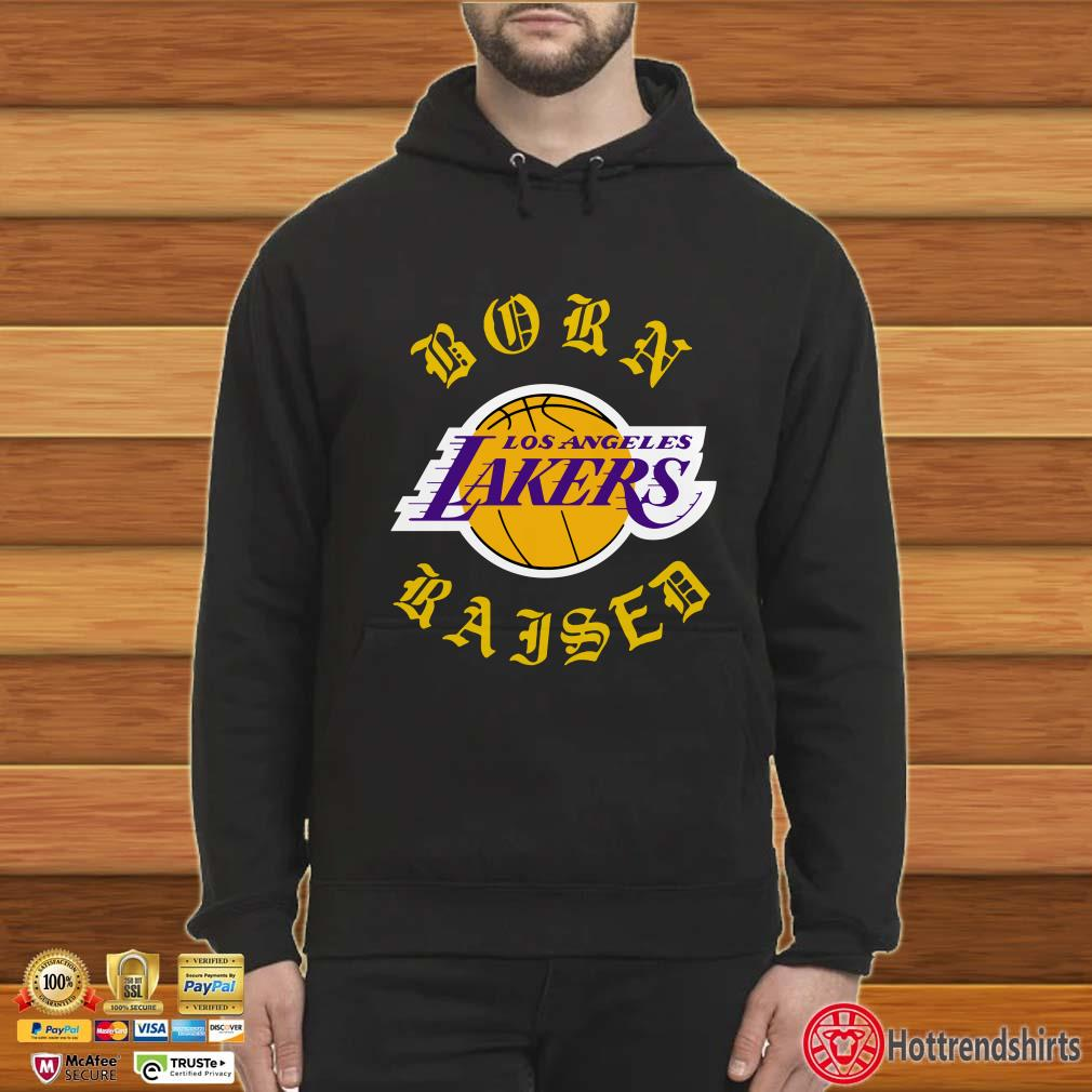 Born Raised Los Angeles Lakers Shirt
