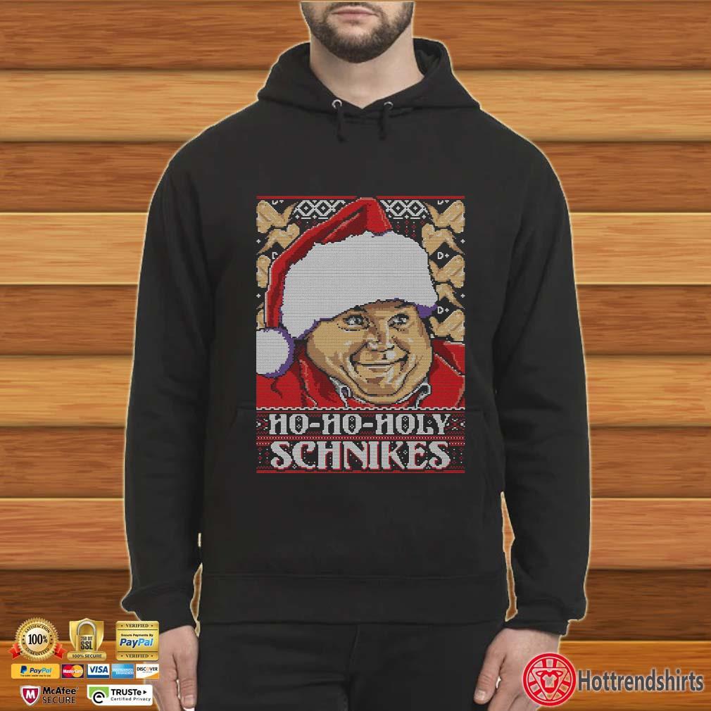 Chris Farley Ho Ho Ho Schnikes Ugly Christmas Shirt