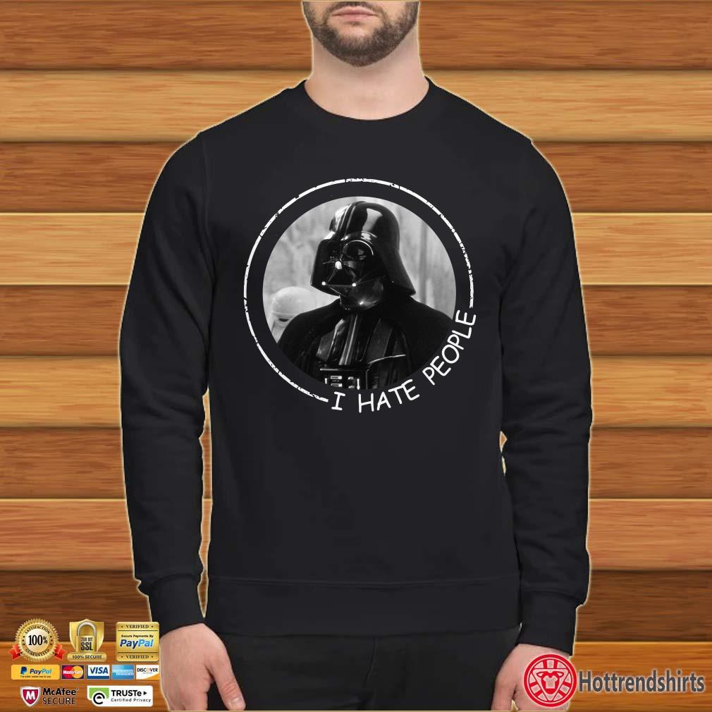 Darth Vader I hate people shirt