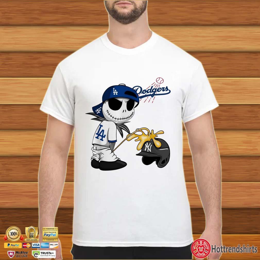 Dodgers Jack Skellington And New York Yankees Shirt