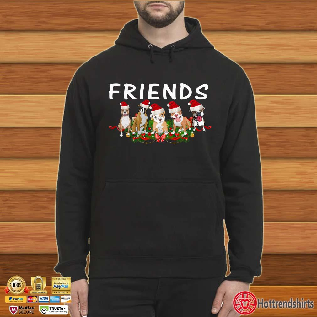 Dogs Christmas Friends shirt