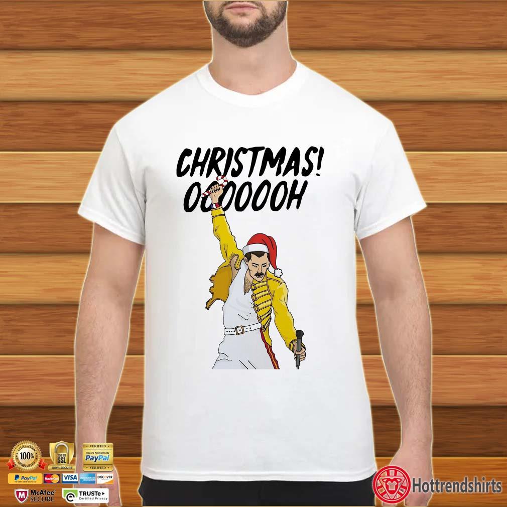 Freddie Mercury Christmas Ooooooh Sweater