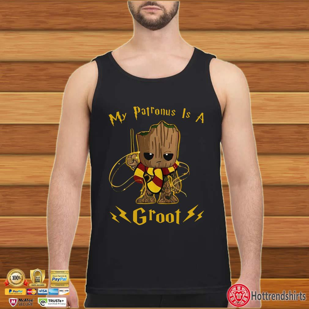 Halloween My Patronus Is A Groot Shirt