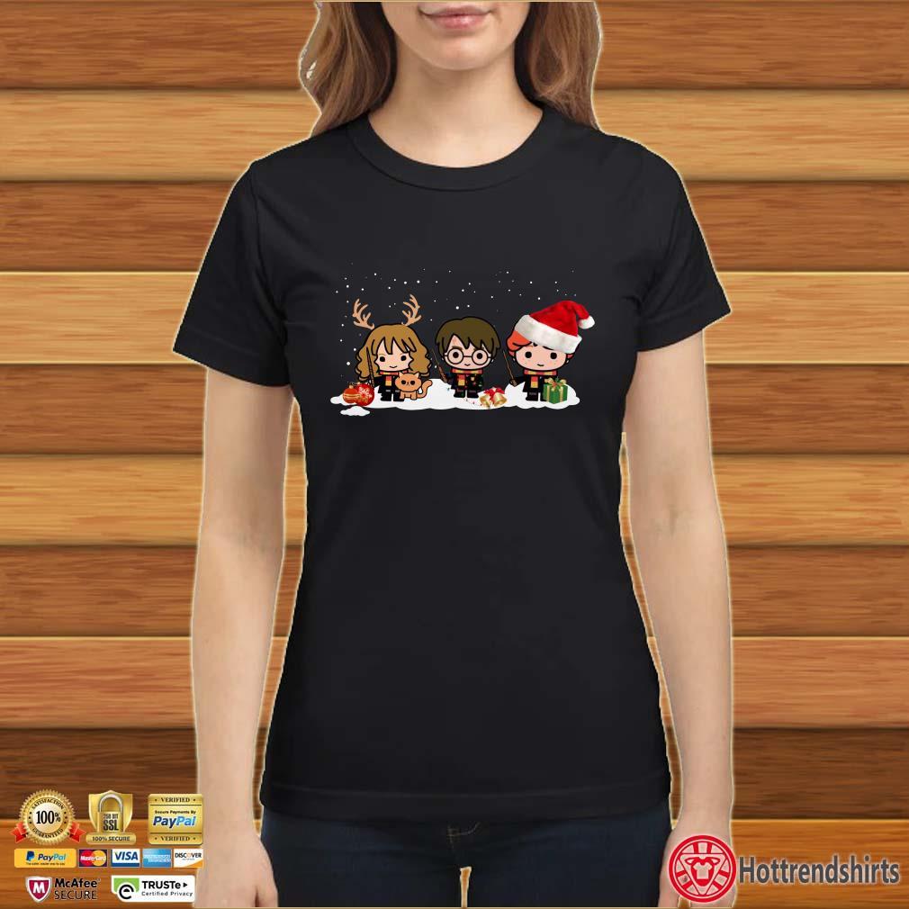Harry Potter Hermione and Ron Weasley Christmas Sweatshirt