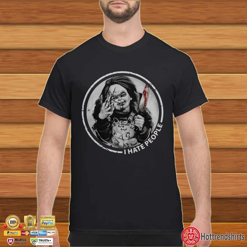 Horror Chucky I Hate People Shirt