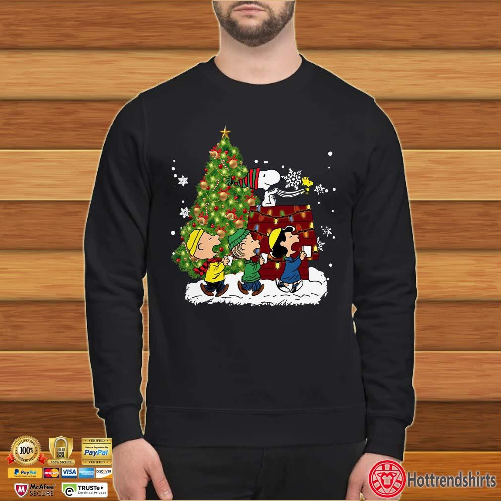 Peanuts Snoopy House Christmas Lights Shirt