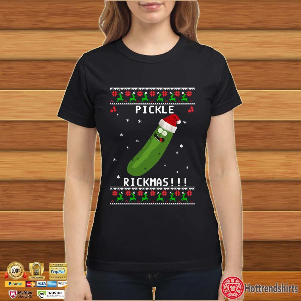 Rick And Morty Pickle Rickmas Ugly Christmas Sweatshirt