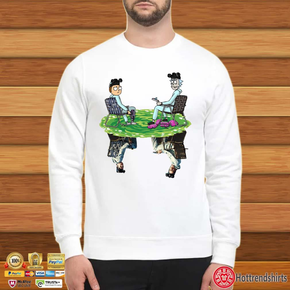 Rick And Morty Water Mirror Reflection Breaking Bad Shirt