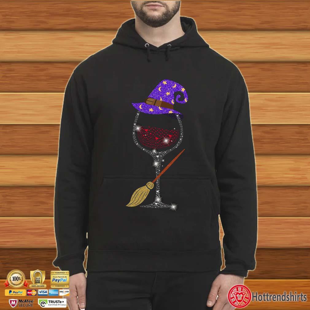 Witch Wine Halloween Shirt