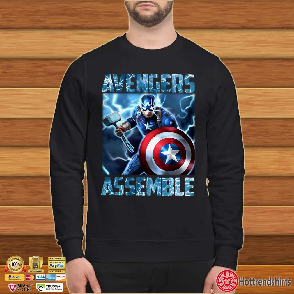 Avenger Assemble Captain America Shirt