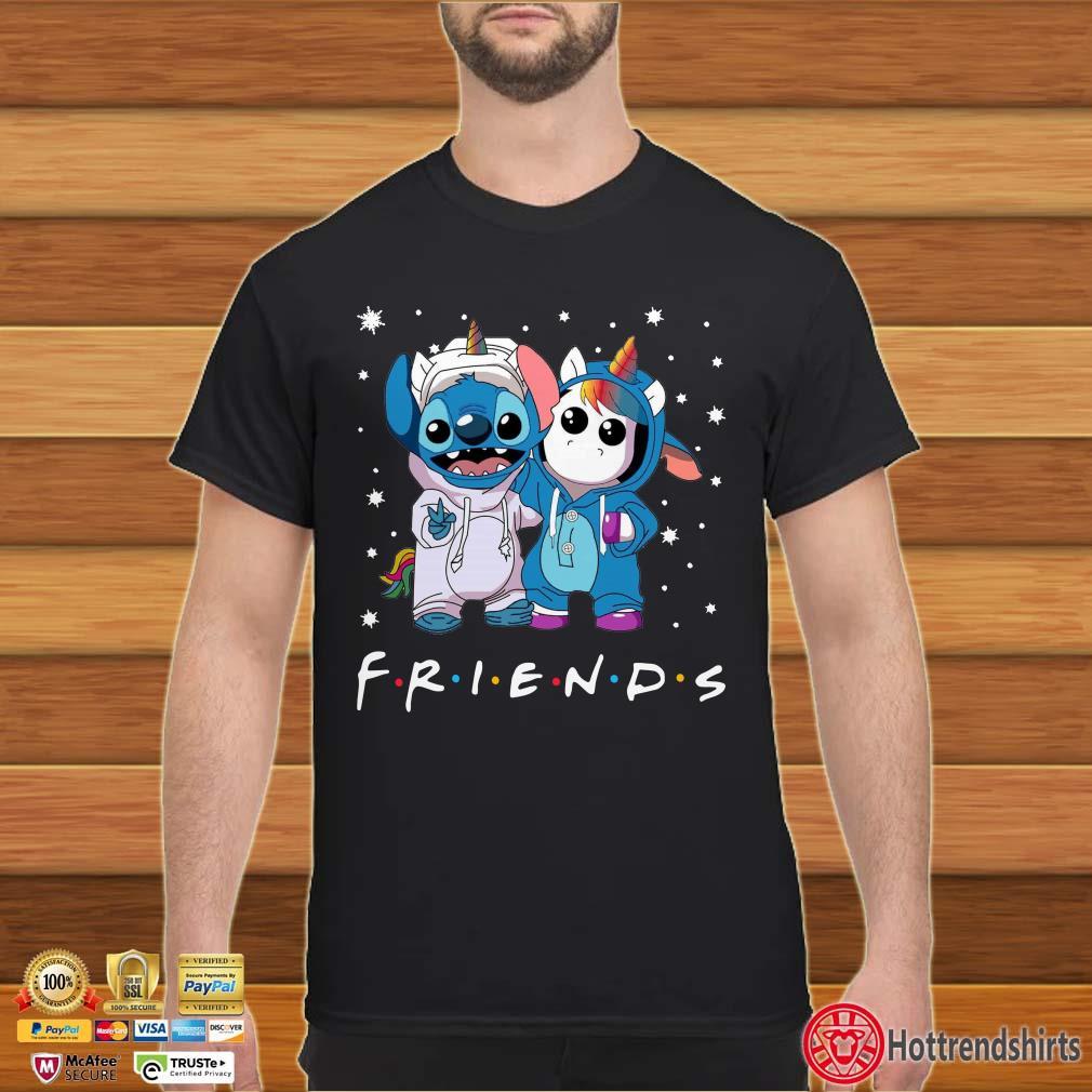 Baby Stitch and Unicorn Friends Tv Show shirt