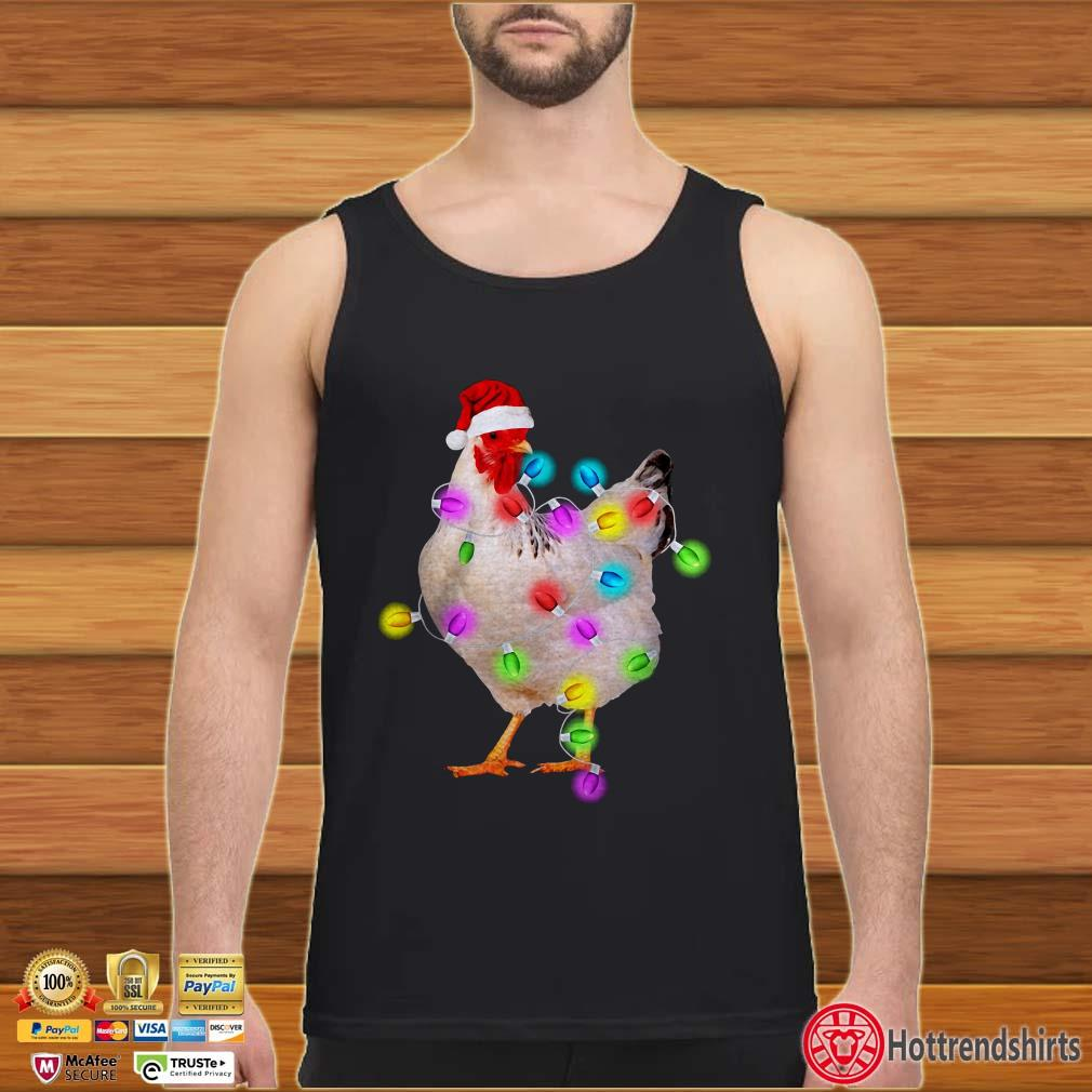 Chicken Lights Christmas Shirt