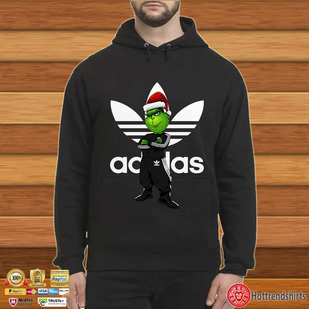 Christmas Santa Grinch Adidas Shirt