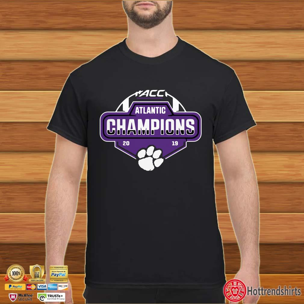 Clemson Tigers 2019 ACC Atlantic Football Division Champion Shirt
