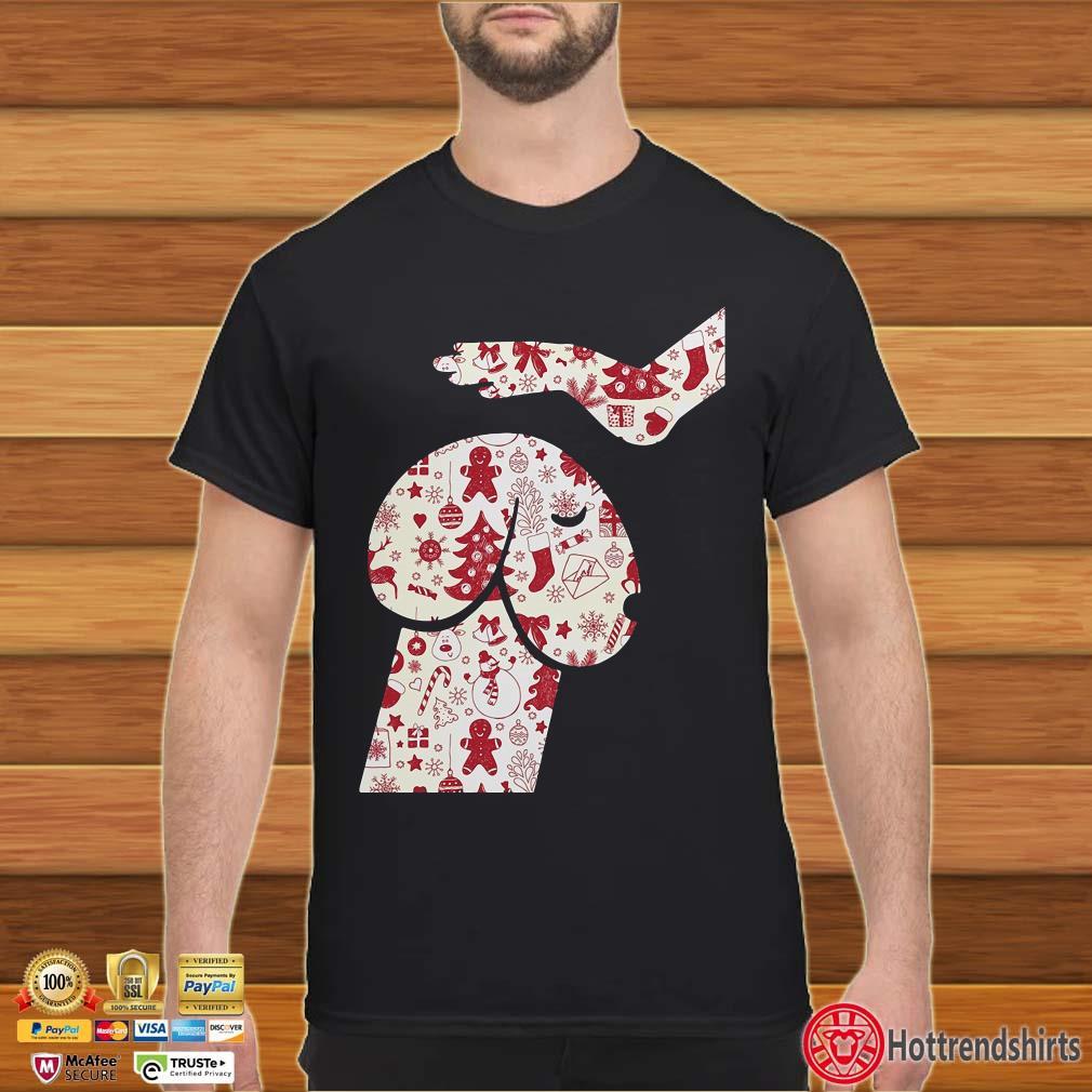 Cool Hand Touch Head Dickhead dog Christmas Shirt
