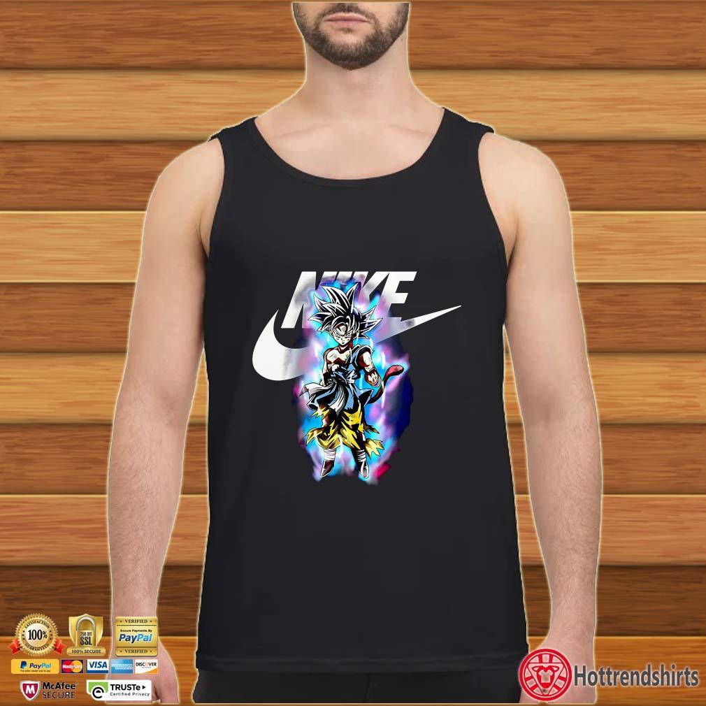Dragon ball Songoku Ultra Instinct Nike shirt