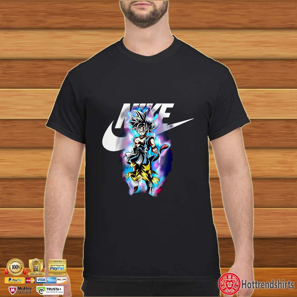 Dragon ball Songoku Ultra Instinct Nike shirt, Sweater