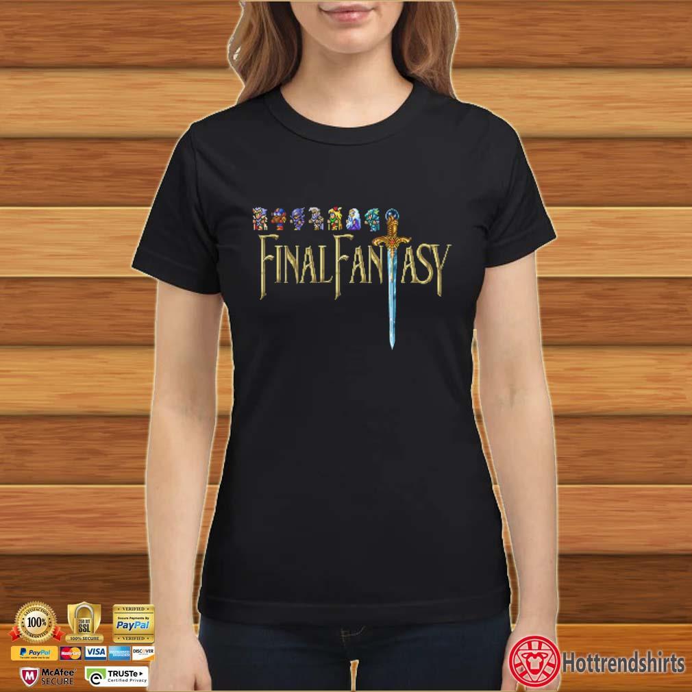 Final Fantasy Ugly Christmas Shirt