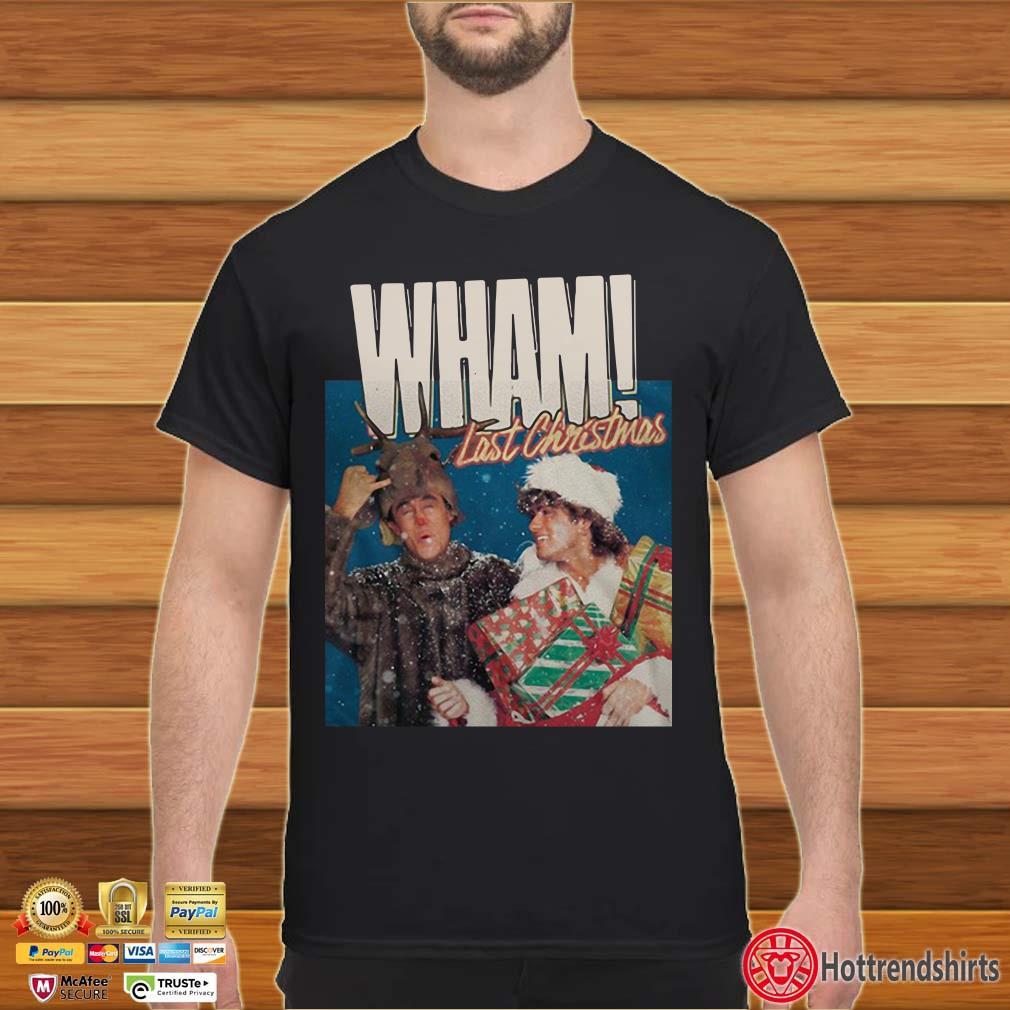 George Michael Last Christmas Wham Shirt