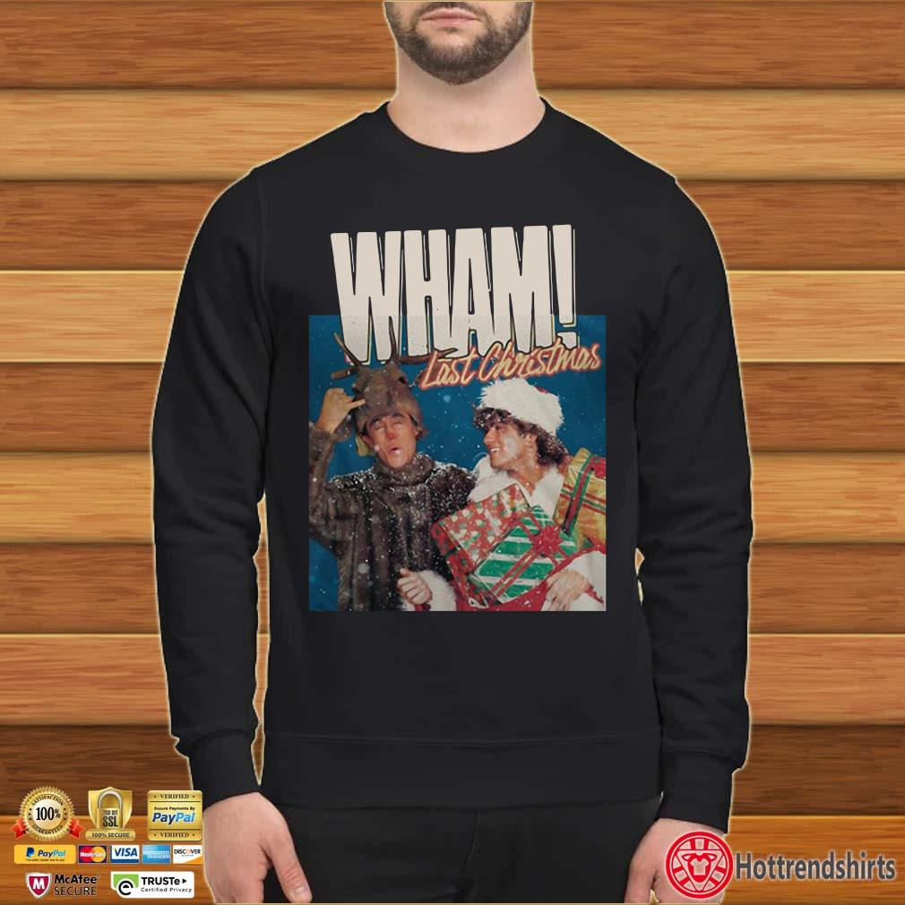George Michael Last Christmas Wham Shirt