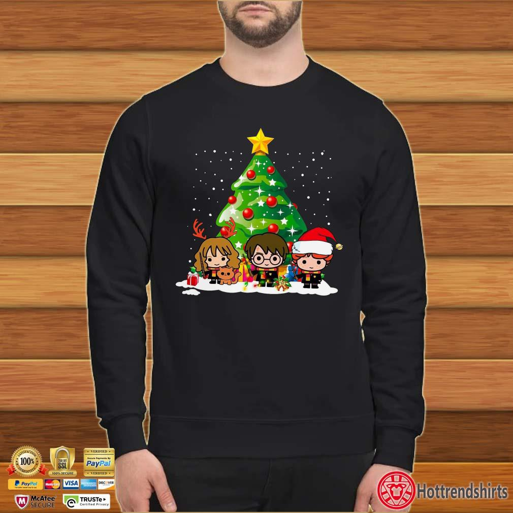 Harry Potter Hermione Ron Christmas Tree Shirt