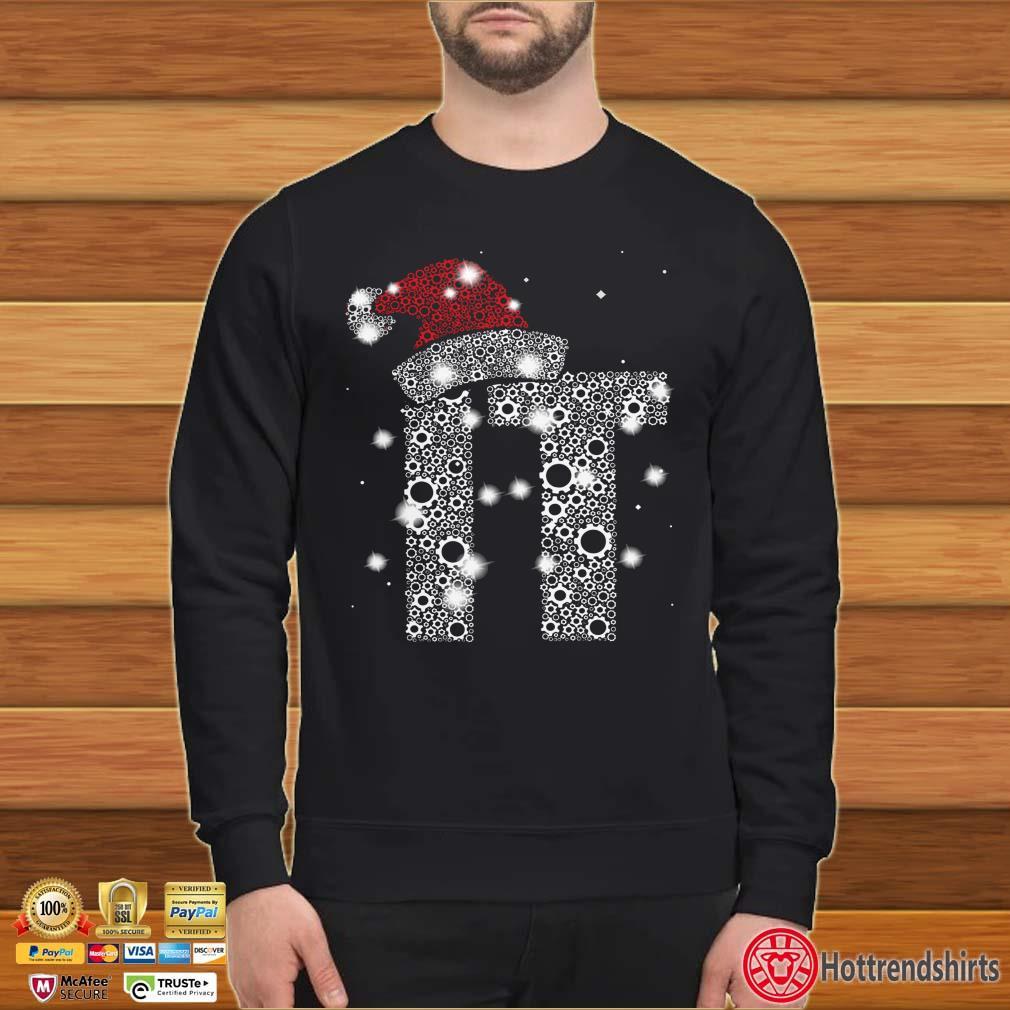 Information Technology Diamond Santa Christmas shirt