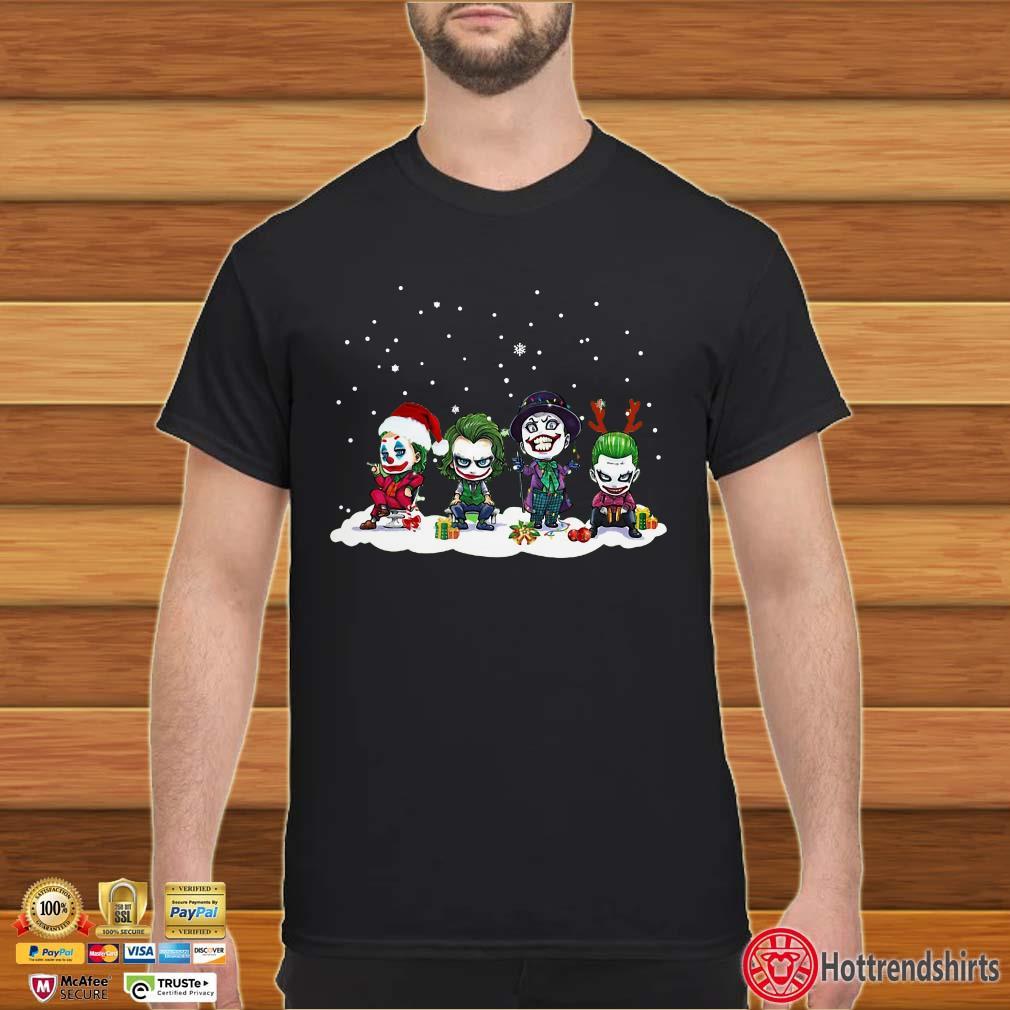 Joker Chibi Character Christmas Shirt