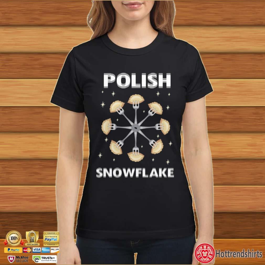 Polish Pierogi Snowflake Shirt