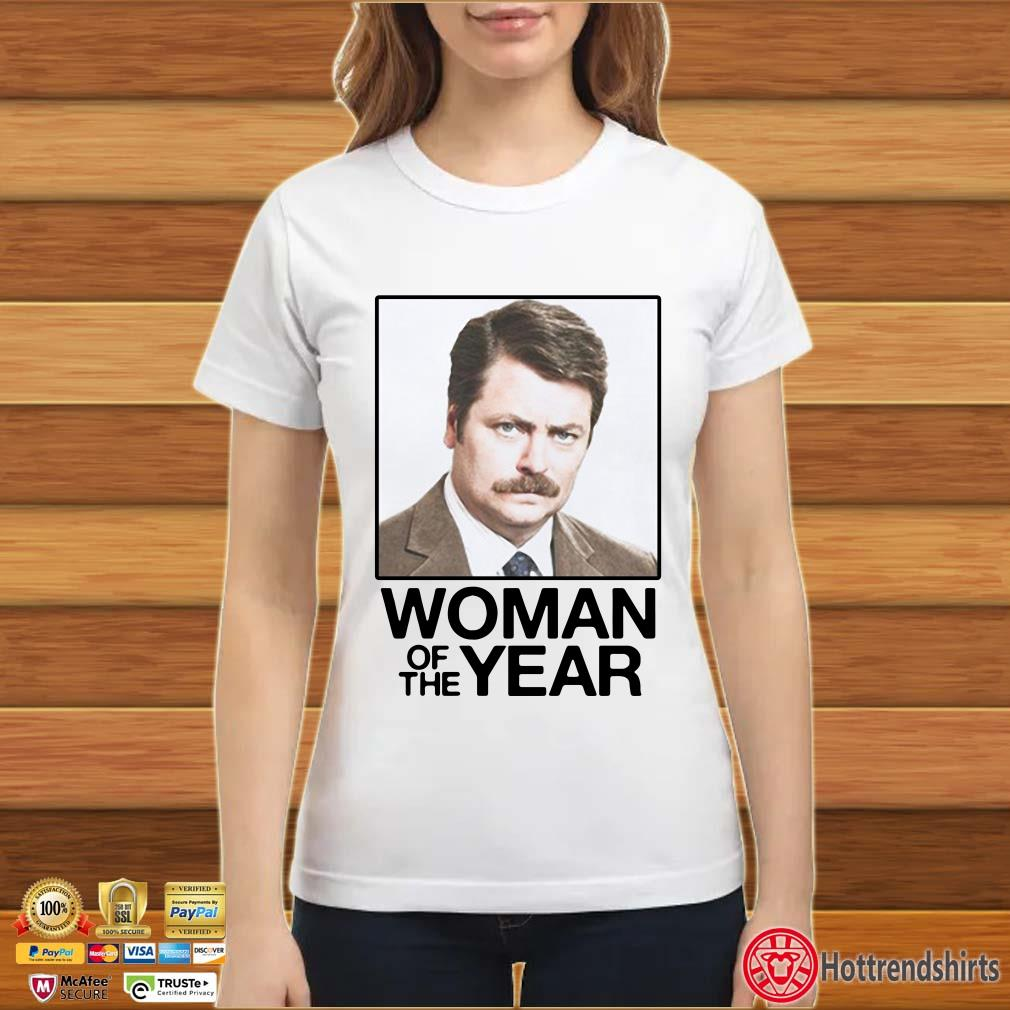 Ron Swanson Woman of the Year Parks and Recreation Shirt