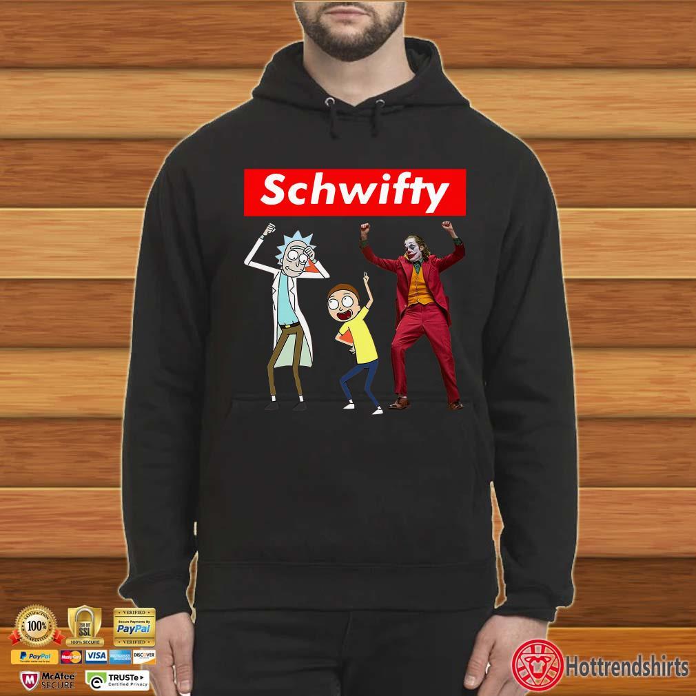 Schwifty Rick And Morty Joker Dancing Shirt