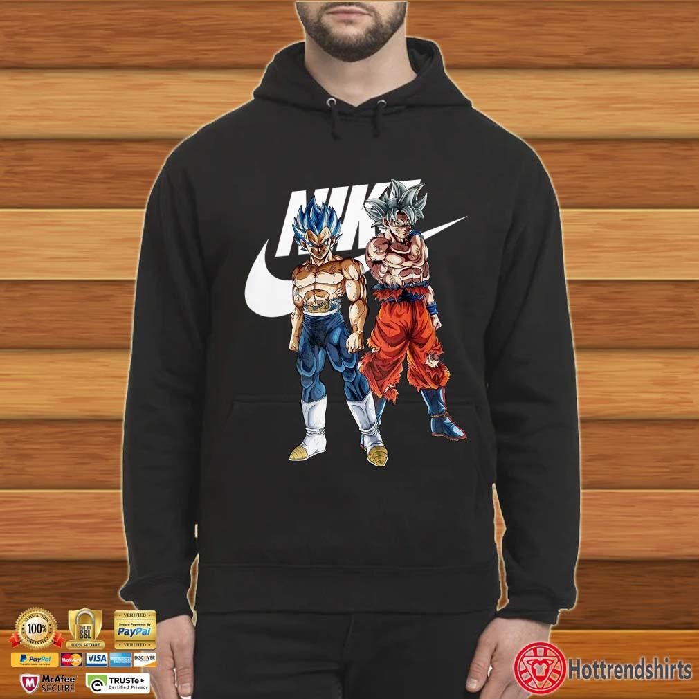 Son Goku And Vegeta Ultra Instinct Nike Shirt