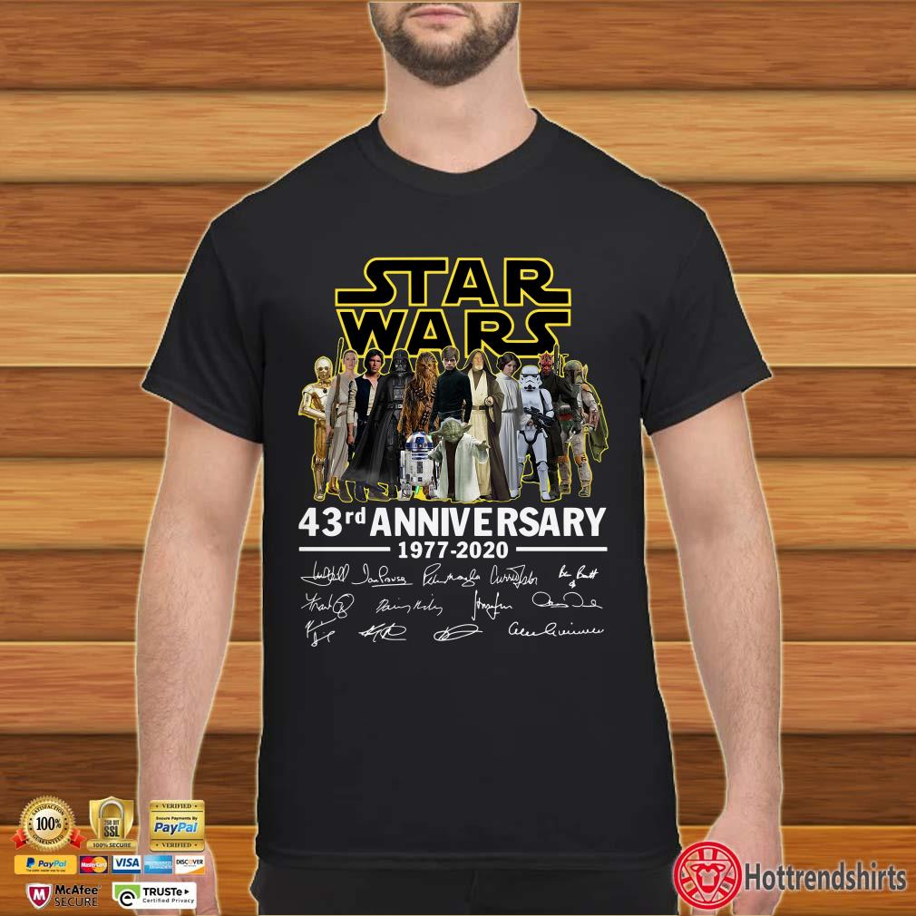 Star Wars 43rd anniversary shirt