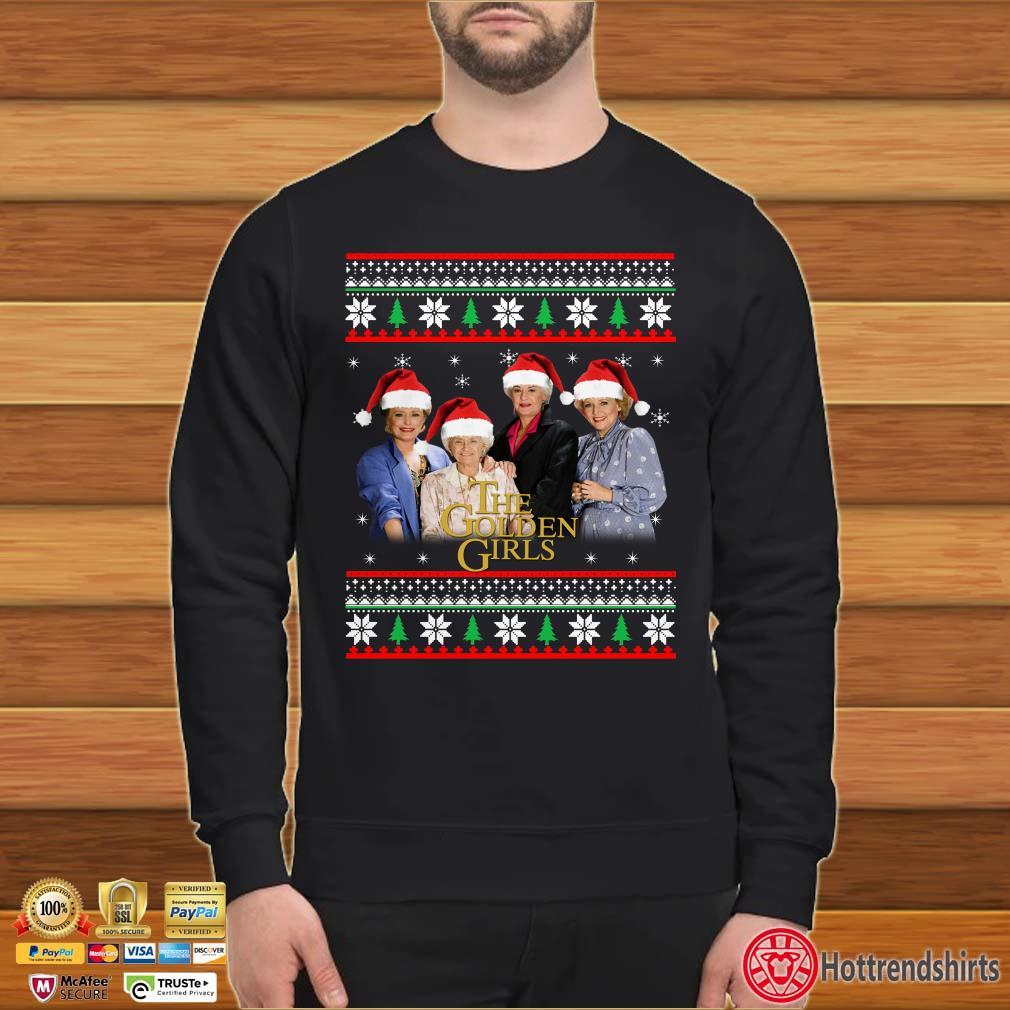 The Golden Girls Santa Ugly Christmas Shirt