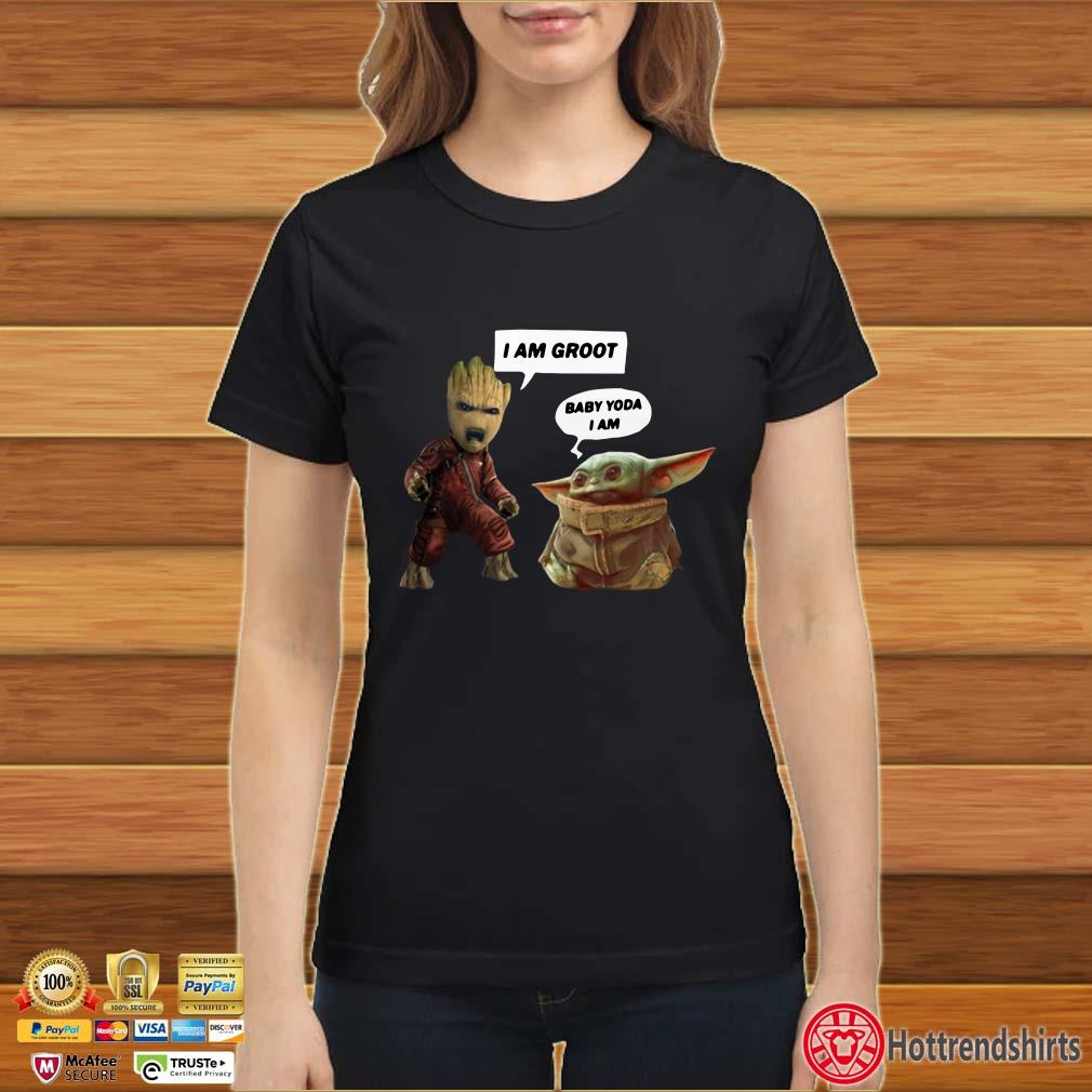 Baby Groot and Baby Yoda Shirt