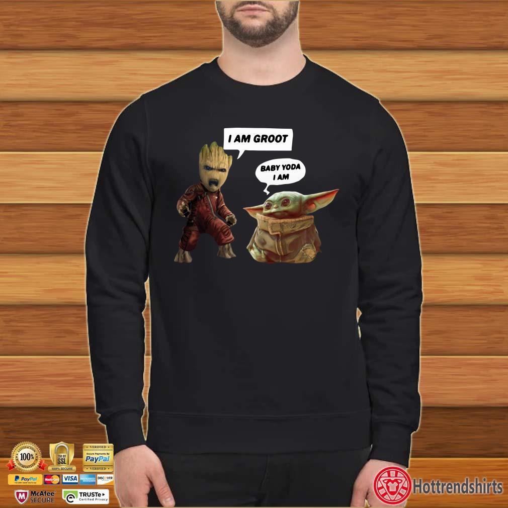 Baby Groot and Baby Yoda Shirt