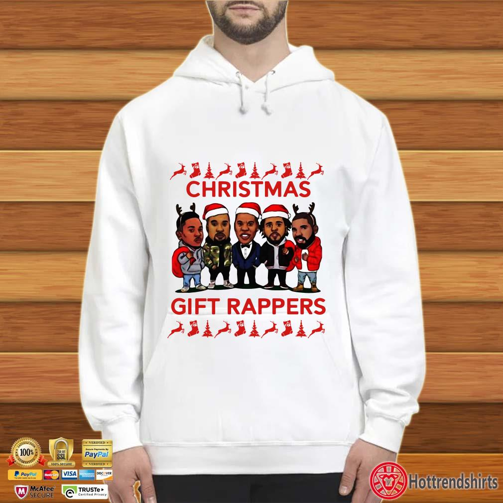 Christmas Gift Rappers Wrappers J Cole Jay Z Kendrick Kanye West Shirt