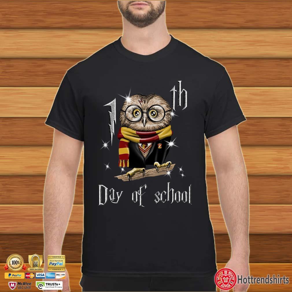 Harry Potter 100th Day Of School Owl Hogwart Shirt